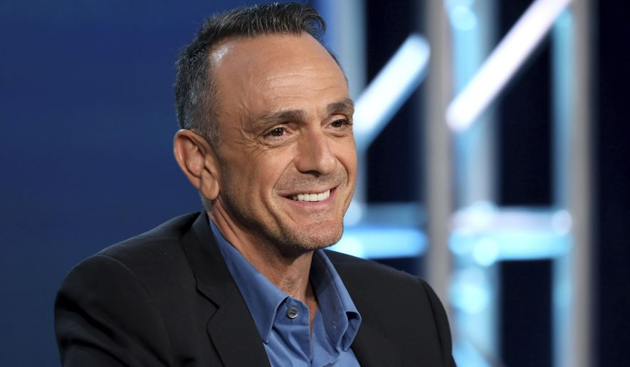 In this Jan. 16, 2020, file photo, actor Hank Azaria speaks during the AMC Networks TCA 2020 Winter Press Tour in Pasadena, Calif. (Photo by Willy Sanjuan/Invision/AP) ** FILE **