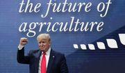 President Donald Trump attends the American Farm Bureau Federation Annual Convention in Austin, Texas, Sunday, Jan. 19, 2020. (AP Photo/Eric Gay)