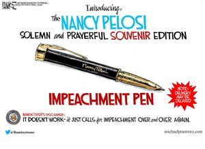 The Nancy Pelosi Impeachment Pen