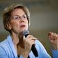 Democratic presidential hopeful Sen. Elizabeth Warren said candidates should be truthful, however her track record doesn't match the statement. (Associated Press)