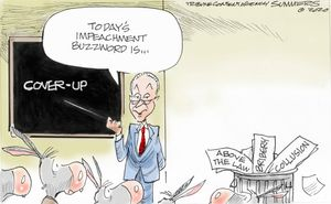 Today's impeachment buzzword is ...