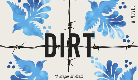 """This cover image released by Flatiron Books shows """"American Dirt,"""" a novel by Jeanine Cummins. (Flatiron Books via AP)"""