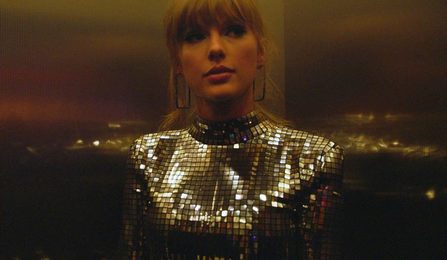 """This image released by the Sundance Institute shows a scene from """"Taylor Swift: Miss Americana,"""" an official selection of the Documentary Premieres program at the 2020 Sundance Film Festival. (Sundance Institute via AP)"""