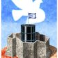 Illustration on Israeli security by Alexander Hunter/The Washington Times