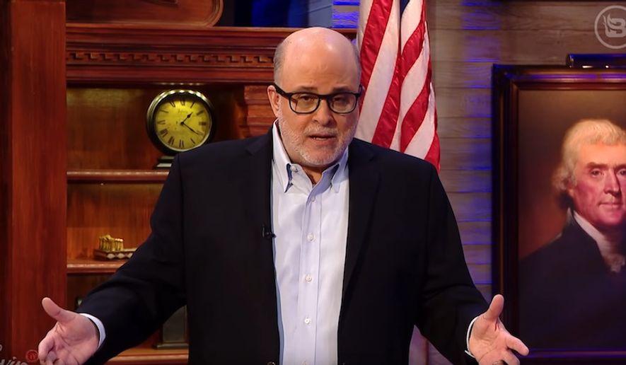 Radio host Mark Levin talks about impeachment proceedings against President Trump, January 21, 2020. (Image: YouTube, BlazeTV video screenshot)
