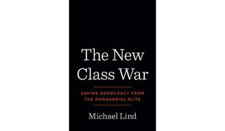 'The New Class War' (book cover)