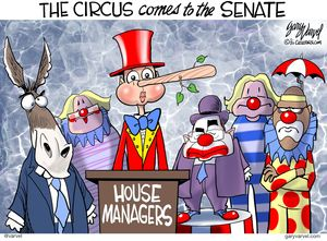 The circus comes to the Senate