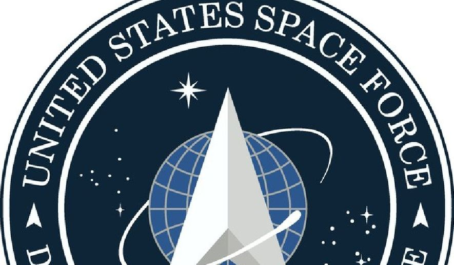 The logo for the new U.S. Space Force, as tweeted by President Trump on Friday, January 24, 2020. (Twitter)