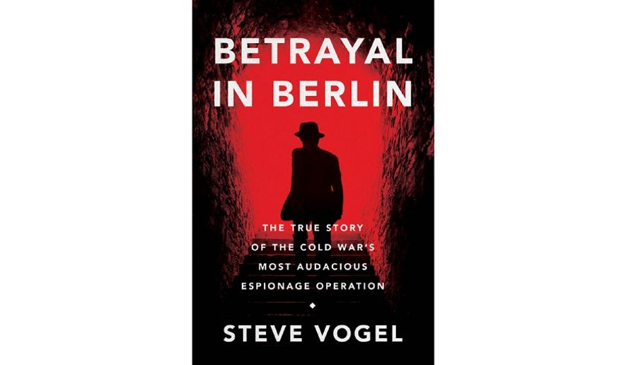 'Betrayal in Berlin' (book cover)