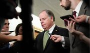 Sen. Doug Jones is considered the most vulnerable senator since he won the 2017 Alabama special election against Republican Roy Moore. (Associated Press Photographs)