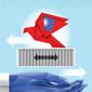 Taiwan China  illustration by Linas Garsys / The Washington Times