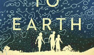 """This cover image released by Simon & Schuster shows """"Run Me to Earth"""" by Paul Yoon. (Simon & Schuster via AP)"""
