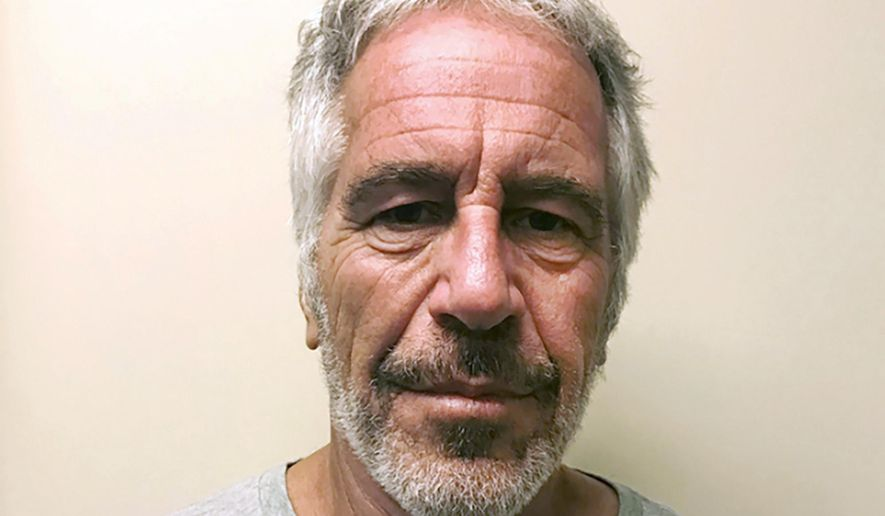 This March 28, 2017, file photo, provided by the New York State Sex Offender Registry, shows Jeffrey Epstein.  A U.S. prosecutor overseeing the Jeffrey Epstein sex trafficking investigation said Monday, Jan 27, 2020, that Britain's Prince Andrew has been uncooperative in the inquiry so far. (New York State Sex Offender Registry via AP, File)