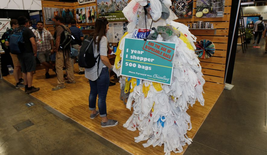 A South Dakota state committee voted 4-2 on Tuesday along party lines for a bill that would bar local governments from banning plastic bags and straws. The bill would be a counterstrike to the anti-plastic bandwagon that is more common in progressive states. (ASSOCIATED PRESS)