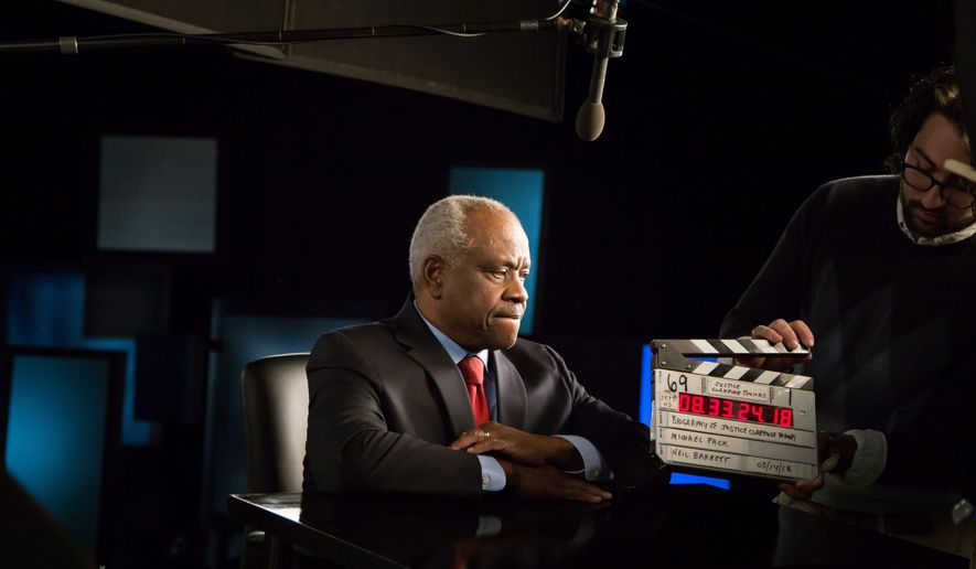 An unprecedented documentary arrives this week about the life of Supreme Court Justice Clarence Thomas, as told in his own words. (Manifold Productions)