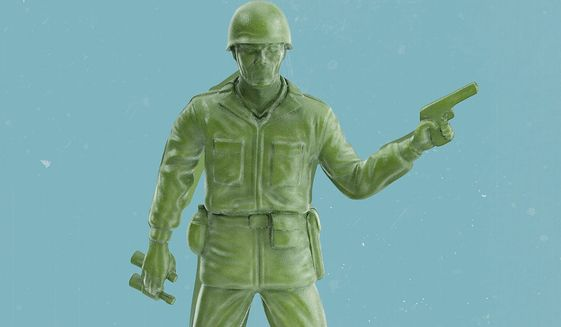 United States military  illustration by Linas Garsys / The Washington Times
