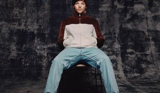 """This cover image released by Sony shows """"Walls,"""" a release by Louis Tomlinson. (Sony via AP)"""