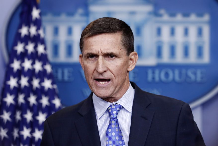 Former Trump National Security Adviser Michael Flynn is shown in this file photo.  (AP Photo/Carolyn Kaster)