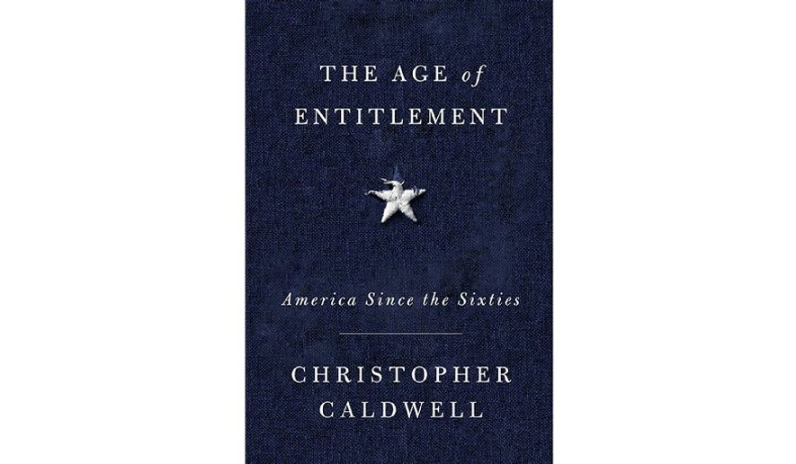 'The Age of Entitlement' (book cover)