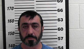 In this photo provided by the Davis County Sheriff's Office shows Lev Aslan Dermen. Openings arguments are set Wednesday, Jan. 29, 2020, in Utah for a California businessman who prosecutors accuse of being a key figure in a $511 million tax credit scheme carried out by two executives of a Salt Lake City biodiesel company linked to a polygamous group. The men from the polygamous group pleaded guilty last year to money fraud and other charges and are expected to testify against Lev Aslan Dermen, who has pleaded not guilty. (Davis County Sheriff's Office, via AP)