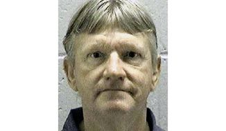 FILE - In this undated file photo released by the Georgia Department of Corrections, shows death row inmate Donnie Cleveland Lance, who was convicted of killing his ex-wife and her boyfriend more than 20 years ago. Lance is scheduled to receive a lethal injection at the state prison in Jackson, Ga., Wednesday, Jan. 29, 2020. (Georgia Department of Corrections via AP, File)