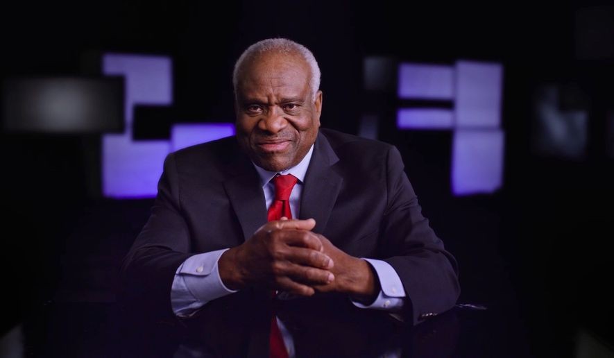 """""""Created Equal: Clarence Thomas in His Own Words"""" tells the story of the quiet Supreme Court justice. The documentary will have a limited run in New York City, Los Angeles and Washington, D.C. (Photo courtesy of Michael Pack and Gina Cappo Pack)"""