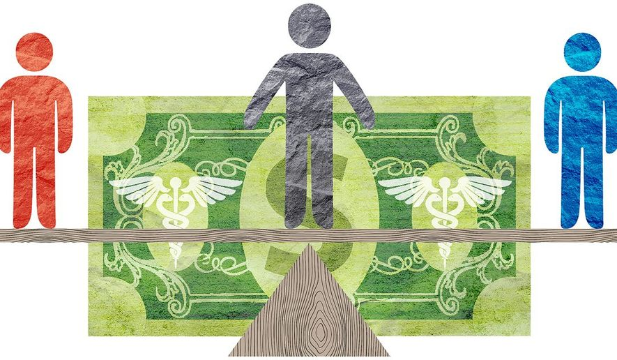 Arbitration for Surprise Medical Bills Illustration by Greg Groesch/The Washington Times