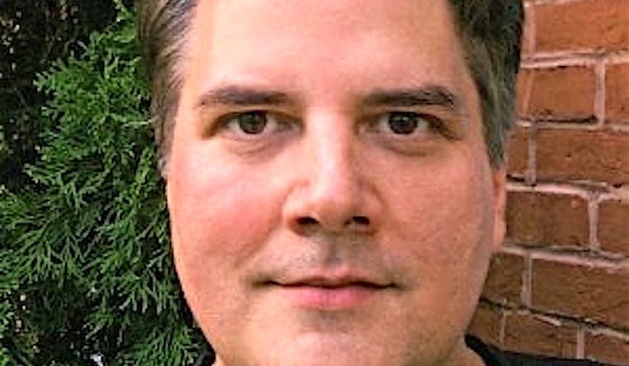 Jason Hargraves, former Washington Times editor for social media, culture and national news. He dies after a brief illness at age 49 in late January. (Image courtesy of Jeff Jenkins)