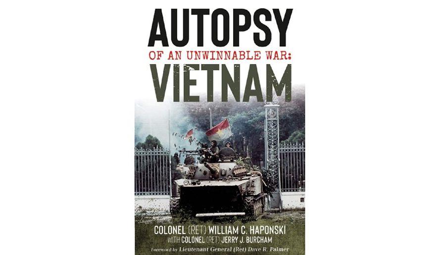 'Autopsy of an Unwinnable War' (book cover)