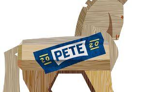 Socialist Trojan Horse Illustration by Greg Groesch/The Washington Times
