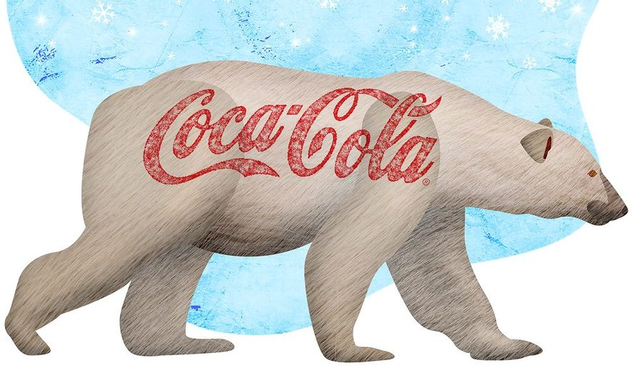 Cola Bear Illustration by Greg Groesch/The Washington Times