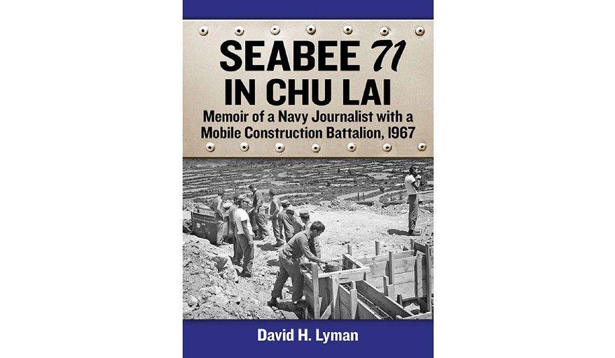 'Seabee 71 in Chu Lai' (book cover)