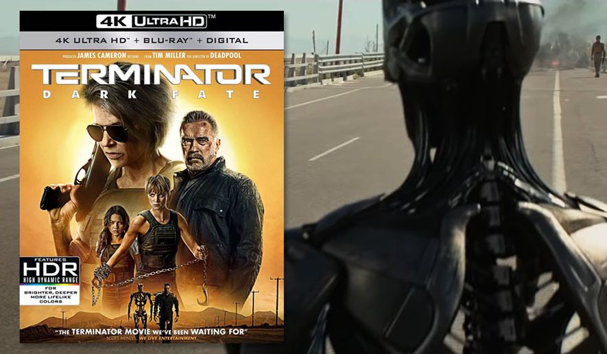 """The Rev-9 arrives in """"Terminator: Dark Fate,"""" now available on 4K Ultra HD from Paramount Pictures Home Entertainment."""