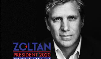 Transhumanist, futurist, independent GOP independent presidential hopeful Zoltan Istvan says he's gotten an unexpectedly warm reception in Iowa. (Zoltan Istvan)