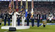 Demi Lovato performs the national anthem before the NFL Super Bowl 54 football game between the San Francisco 49ers and the Kansas City Chiefs Sunday, Feb. 2, 2020, in Miami Gardens, Fla. (AP Photo/David J. Phillip) ** FILE **