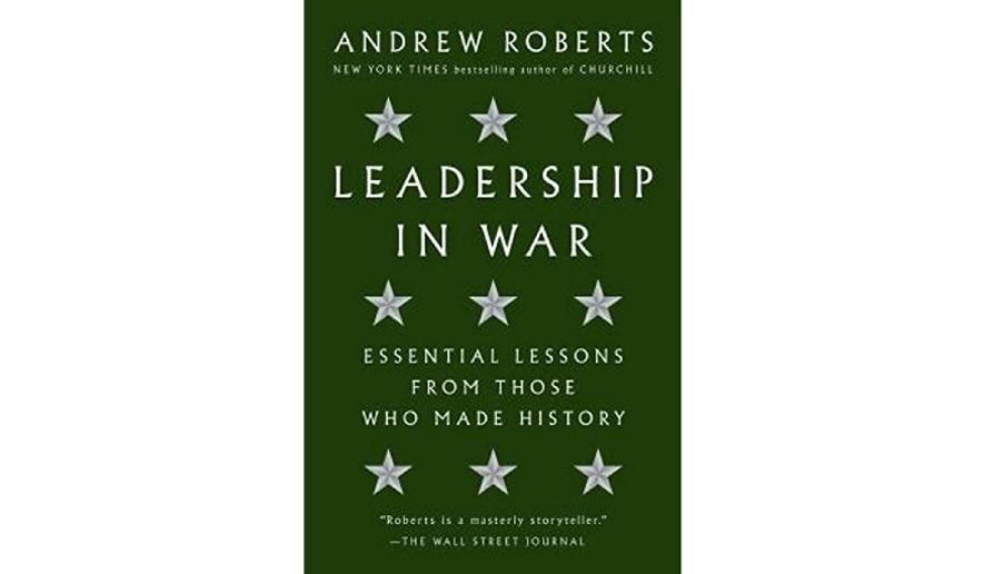 'Leadership in War' (book cover)