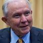 Former Attorney General Jeff Sessions is running for his old Senate seat. He has two challengers Rep. Bradley Byrne and Tommy Tuberville. (Associated Press)