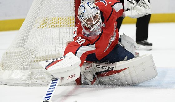 Braden Holtby Taking It Easy In Quarantine Even With Uncertain Contract Situation Washington Times