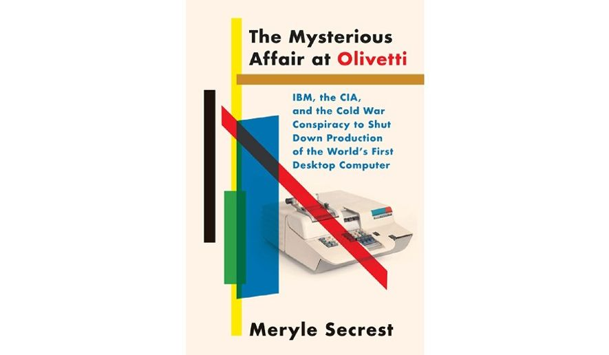 'The Mysterious Affair at Olivetti' (book cover)