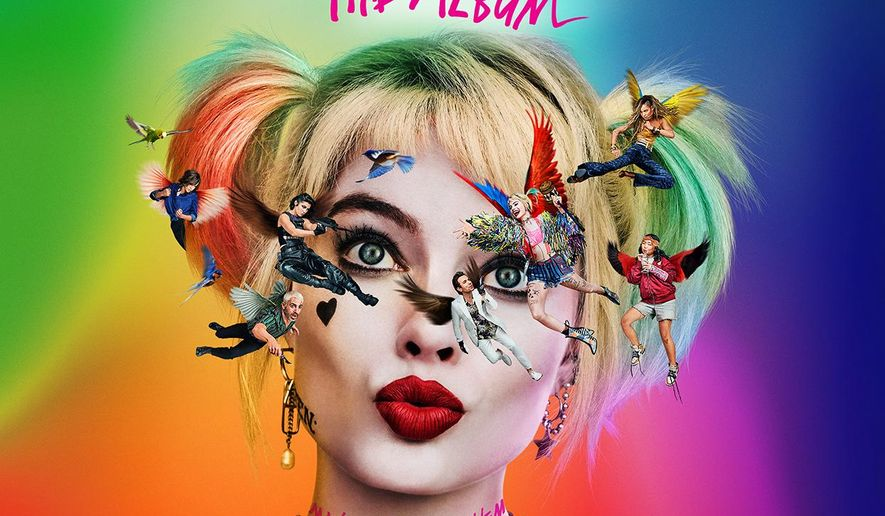 """This cover image released by Atlantic Records shows """"Birds Of Prey: The Album,"""" the original motion picture soundtrack. (Atlantic Records via AP)"""