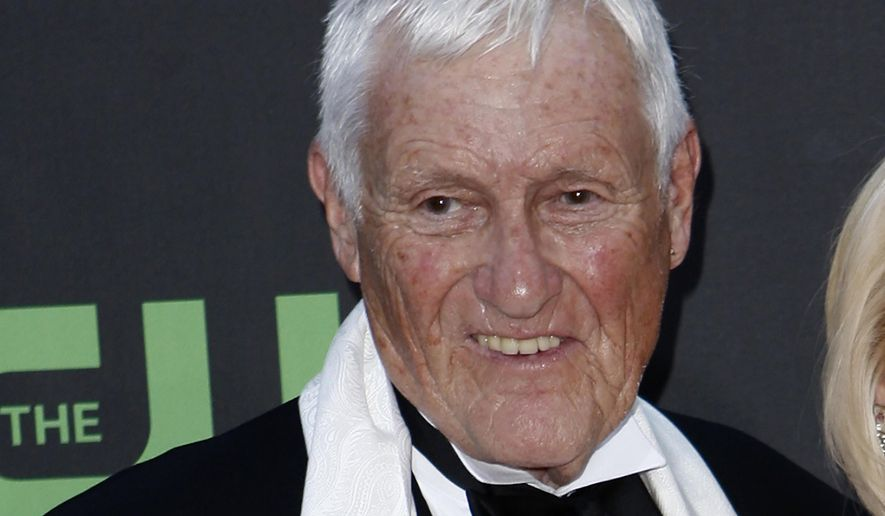 In this file photo dated Sunday Aug. 30, 2009, actor and comedian Orson Bean arrives at the Daytime Emmy Awards in Los Angeles, USA. According to a statement from the Police in Los Angeles Saturday Feb. 8, 2020, Orson Bean was hit and killed by a car in Los Angeles. Bean was 91. (AP Photo/Matt Sayles, FILE)