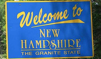Between campaigning, a rally and an election, New Hampshire is currently the center of the American political universe. (ASSOCIATED PRESS)