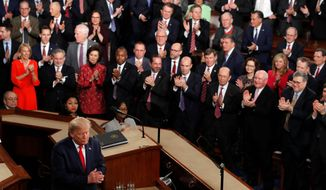 President Trump earned bipartisan applause during last week's State of the Union address with his vow to spread high-speed internet service to rural America. An estimated 19 million Americans still lack broadband, according to the FCC. (Associated Press)