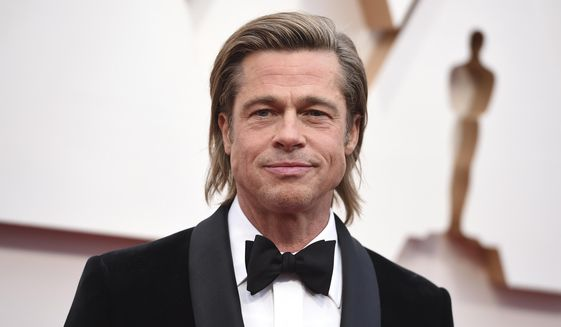 Brad Pitt arrives at the Oscars on Sunday, Feb. 9, 2020, at the Dolby Theatre in Los Angeles. (Photo by Jordan Strauss/Invision/AP)