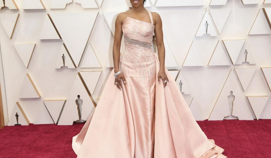 Regina King arrives at the Oscars on Sunday, Feb. 9, 2020, at the Dolby Theatre in Los Angeles. (Photo by Richard Shotwell/Invision/AP)
