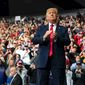 Pollsters and analysts suggest President Trump could win the 2020 election because he has hard-won victories under his belt. (Associated Press)