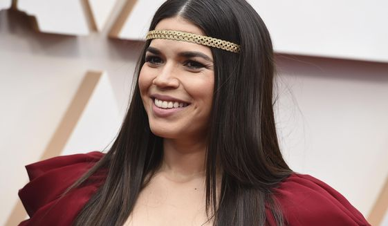 America Ferrera arrives at the Oscars on Sunday, Feb. 9, 2020, at the Dolby Theatre in Los Angeles. (Photo by Jordan Strauss/Invision/AP)