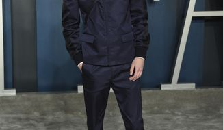 Timothee Chalamet arrives at the Vanity Fair Oscar Party on Sunday, Feb. 9, 2020, in Beverly Hills, Calif. (Photo by Evan Agostini/Invision/AP)