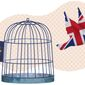 Escape from EU Illustration by Greg Groesch/The Washington Times