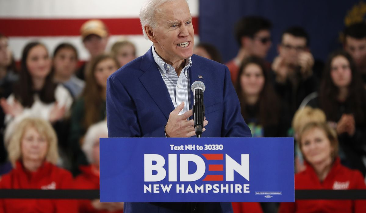 Joe Biden: 'We could run Mickey Mouse' against Trump and win